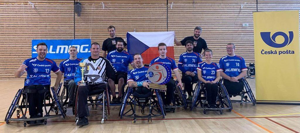 Česká reprezentace ve Francii (Míra je první zprava)